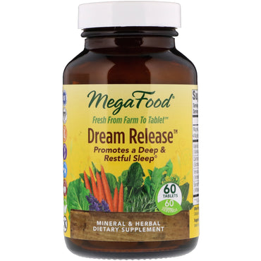 MegaFood, Dream Release, 60 Tablets