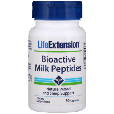 Life Extension, Bioactive Milk Peptides, 30 Capsules
