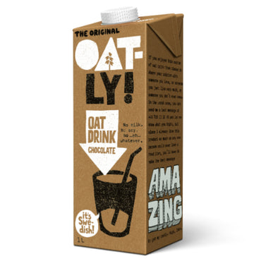Oatly Chocolate Oat Drink 1 Litre