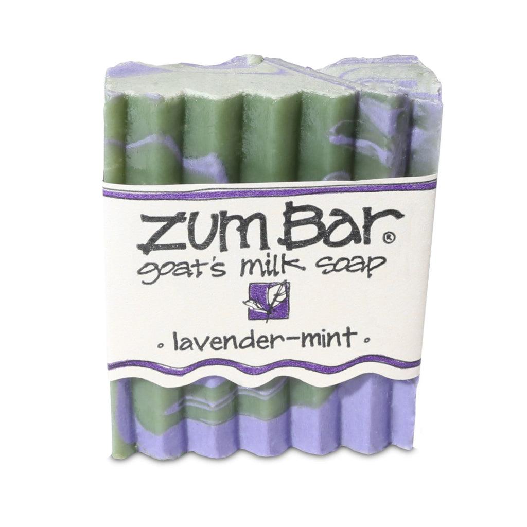 Indigo Wild, Zum Bar, Goat's Milk Soap, Lavender-Mint, 3 oz Bar