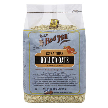 Bob's Red Mill, Extra Thick Rolled Oats, 32 oz (907 g)