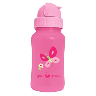 iPlay Inc., Green Sprouts, Aqua Bottle, Pink, 10 oz (300 ml)