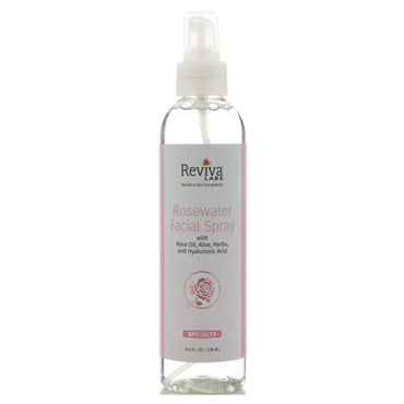 Reviva Labs, Rosewater Facial Spray, 8 oz (236 ml)