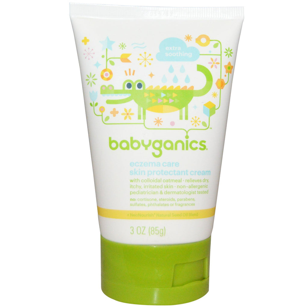 BabyGanics, Eczema Care, Skin Protection Cream, 3 oz (85 g)