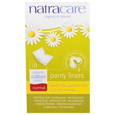 Natracare, Organic & Natural Panty Liners, Normal, 18 Panty Liners