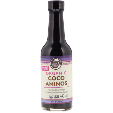 Big Tree Farms, Organic Coco Aminos, Essential Seasoning Sauce, 10 fl oz (296 ml)