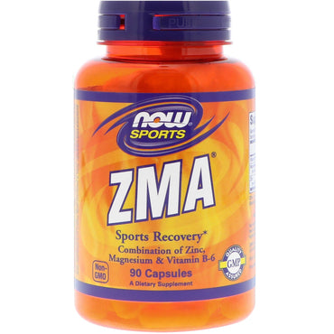 Now Foods, Sports, ZMA, Sports Recovery, 90 Capsules