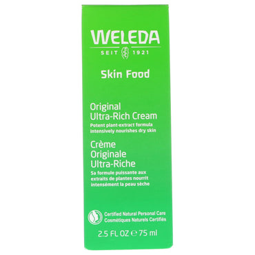 Weleda, Skin Food, Original Ultra-Rich Cream, 2.5 oz (75 g)