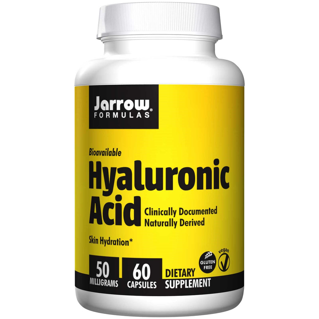 Jarrow Formulas, Hyaluronic Acid, 50 mg, 60 Veggie Caps