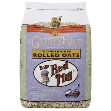Bob's Red Mill, Gluten Free, Old Fashioned Rolled Oats, 32 oz (907 g)