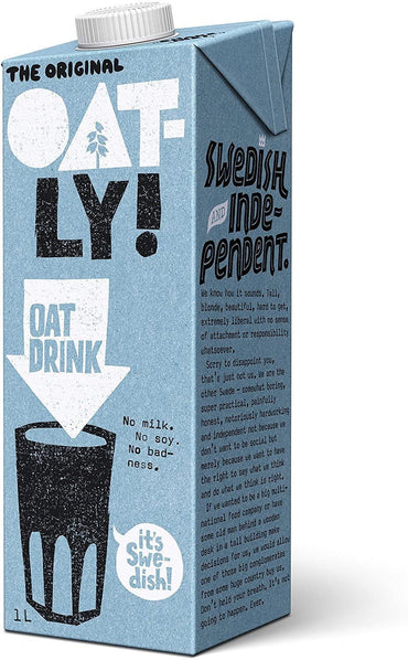 Oatly Oatly Enriched - added calcium - 1l