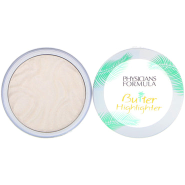 Physician's Formula, Inc., Butter Highlighter, Cream to Powder Highlighter, Pearl, 0.17 oz (5 g)