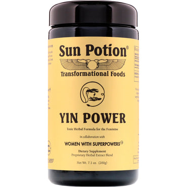 Sun Potion, Yin Power, Women With Superpowers, 7.1 oz (200 g)