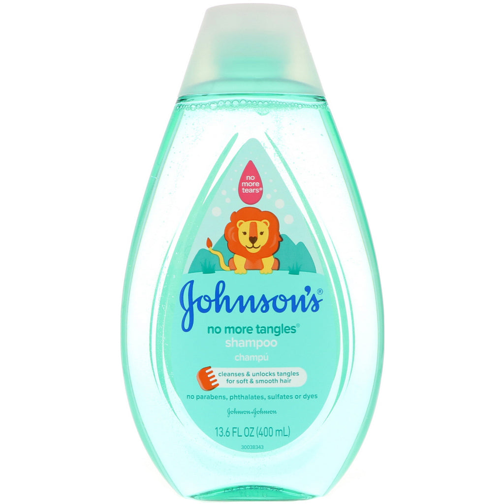 Johnson's No More Tangles Shampoo 13.6 fl oz (400 ml)