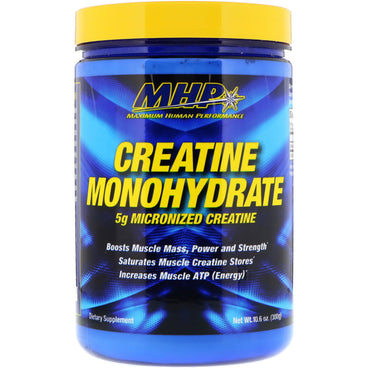 Maximum Human Performance, LLC, Creatine Monohydrate, 10.6 oz (300 g)