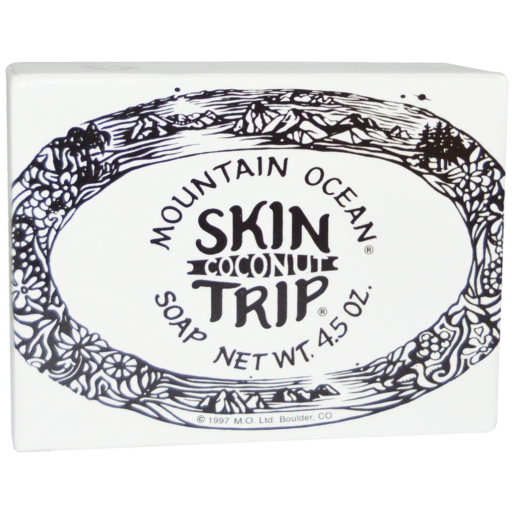 Mountain Ocean, Skin Trip, Coconut Soap, 4.5 oz Bar