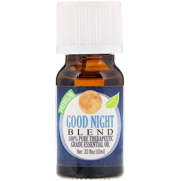 Healing Solutions 100% Pure Therapeutic Grade Essential Oil Good Night Blend 0.33 fl oz (10 ml)