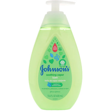 Johnson's Soothing Vapor Bath 13.6 fl oz (400 ml)