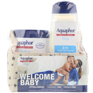 Aquaphor Baby Care Welcome Baby 3 Piece Set Small 3 Pieces