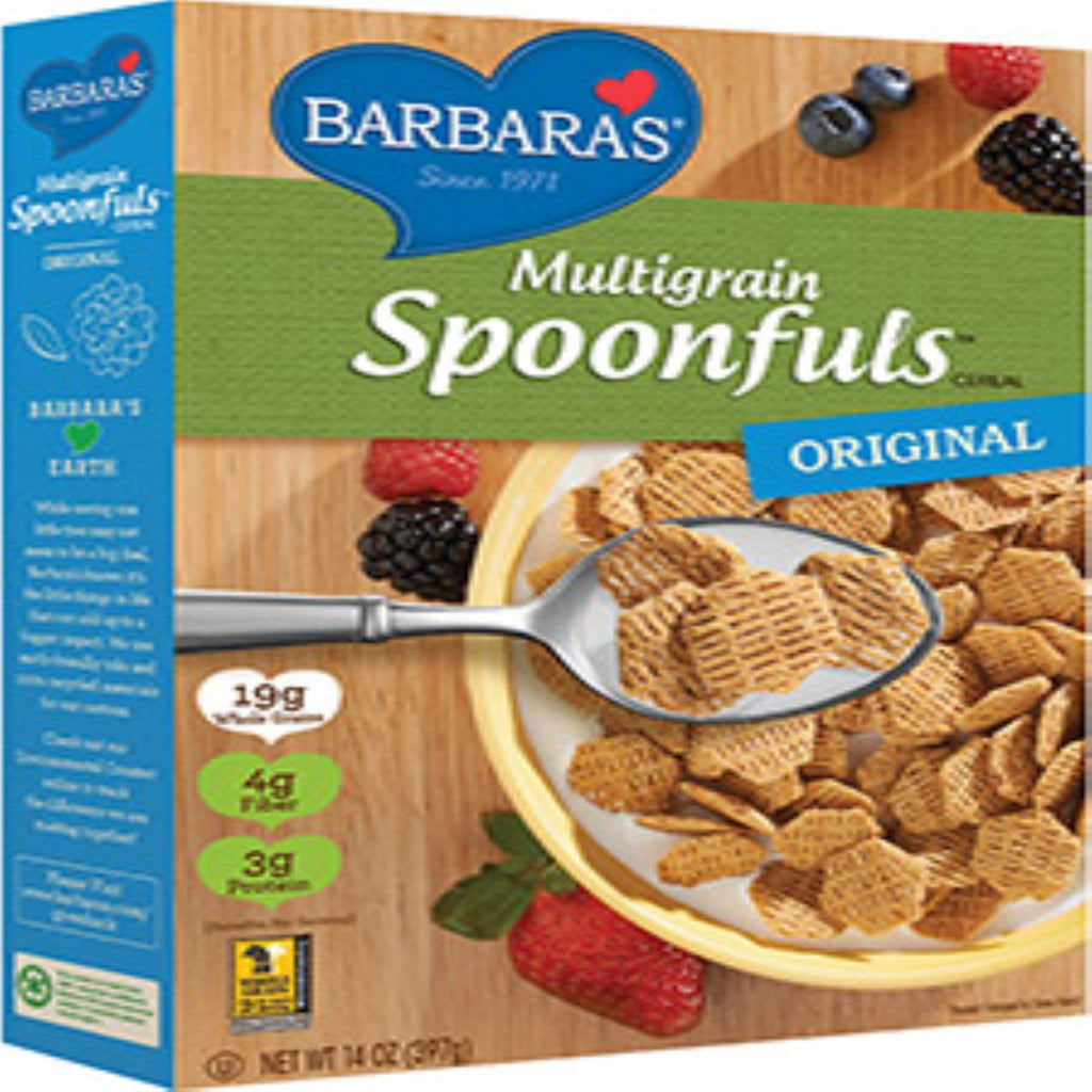 Barbara's Bakery, Multigrain Spoonfuls Cereal, Original, 14 oz (397 g)