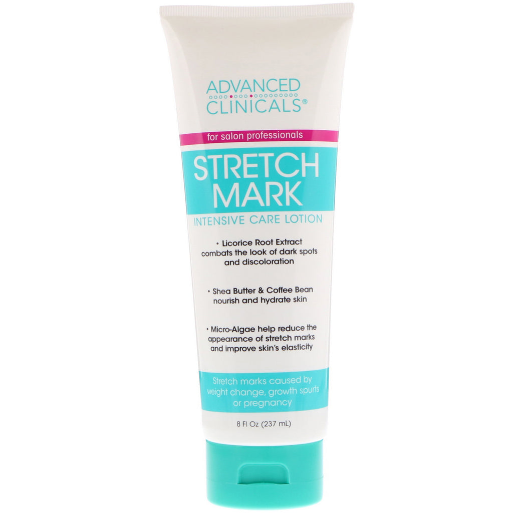 Advanced Clinicals Stretch Mark Intensive Care Lotion 8 fl oz (237 ml)