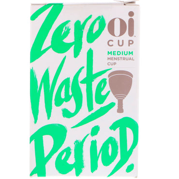 Oi, Menstrual Cup, Medium, 1 Cup