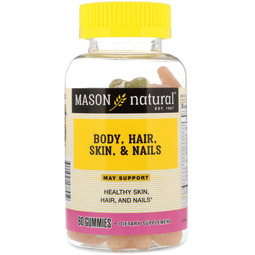 Mason Natural Body Hair Skin & Nails 60 Gummies