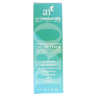 Artnaturals, 2.5% Retinol Age Defying Serum, 1.0 oz (30 ml)