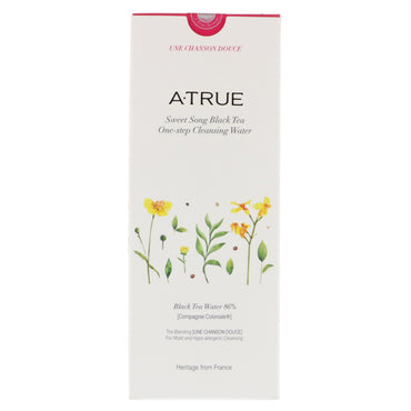 ATrue Sweet Song Black Tea One-Step Cleansing Water 300 ml