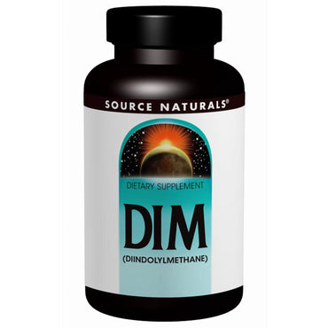 Source Naturals, DIM, (Diindolylmethane), 100 mg, 60 Tablets