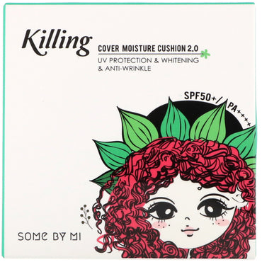Some By Mi, Killing Cover Moisture Cushion 2.0, SPF 50+/PA++++, #23 Natural Beige, 0.52 oz (15 g)