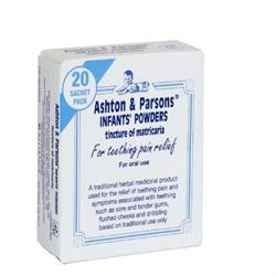 Ashton and Parsons Infant Powder X 20 Sachets