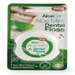 Aloe Vera Mint Dental Floss (order in singles or 48 for trade outer)