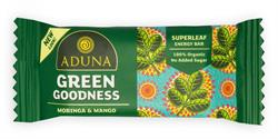 Green Goodness with Moringa Superfood Energy Bar 40g (order 16 for retail outer)