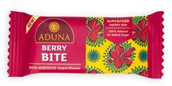 Aduna Berry Bite with Hibiscus Superfood Energy Bar 40g (order 16 for retail outer)