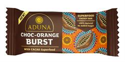 Aduna Choc-Orange Burst with Cacao Superfood Energy Bar 40g (order 16 for retail outer)