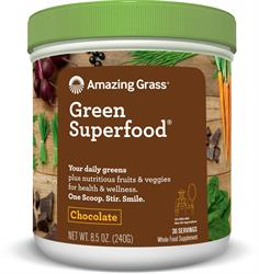 Amazing Grass Green Superfood Chocolate 240g (order in singles or 12 for trade outer)