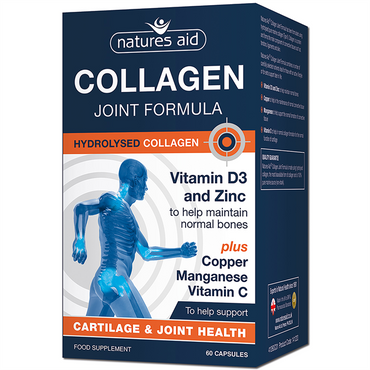 Natures Aid Collagen Joint Formula, 60 Caps