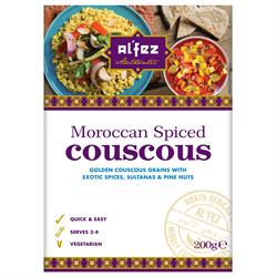 Moroccan Spiced Couscous 200g (order in singles or 12 for trade outer)
