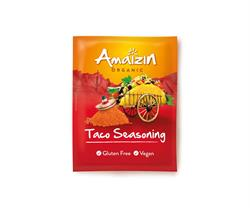 Amaizin Organic and Gluten Free Taco Seasoning (order 12 for retail outer)