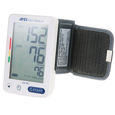 AND Auto Wrist Blood Pressure Monitor | 90Mem | IHB