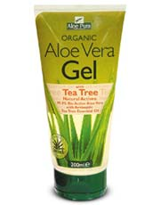 Aloe Vera Gel & Tea Tree 200ml