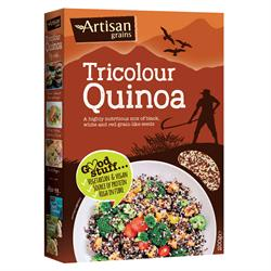 Tricolour Quinoa 200g (order in multiples of 2 or 6 for trade outer)