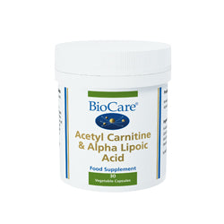 Acetyl Carnitine & Alpha Lipoic Acid 30 capsules