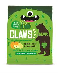 BEAR Claws Apple, Pear, Pumpkin 18g (order 18 for retail outer)