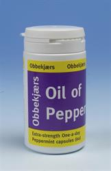 Obbekjaers Extra Strength OAD Oil of Peppermint 60 Capsules (order in singles or 12 for trade outer)