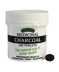 Charcoal 300mg - 100 Tablets (order in singles or 12 for trade outer)
