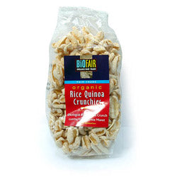 Rice Quinoa Crunchies Organic 120g (order in singles or 6 for retail outer)