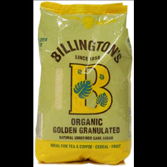 Org Golden Granulated Sugar 500g (order in singles or 10 for trade outer)