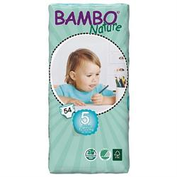 Bambo Junior Nappies 54's